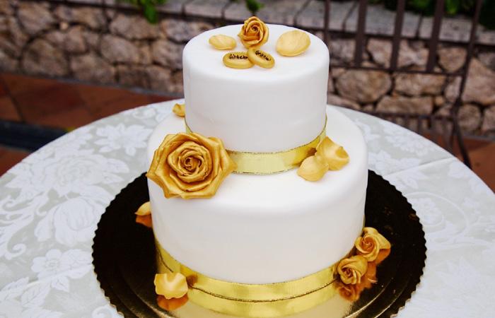 DolceMente torta nuziale