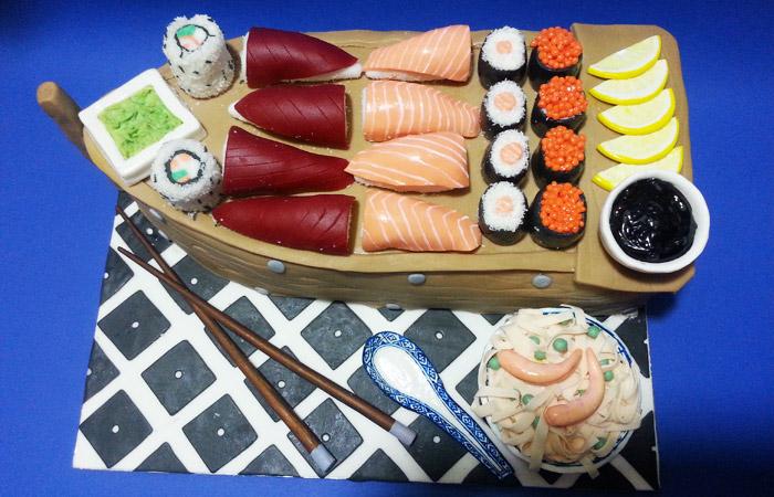 Torta sushi DolceMente